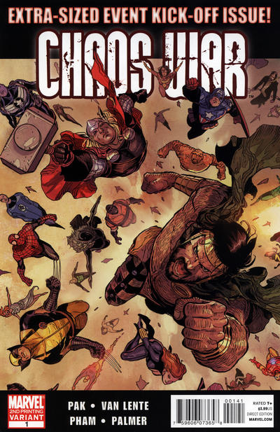 Cover for Chaos War (Marvel, 2010 series) #1