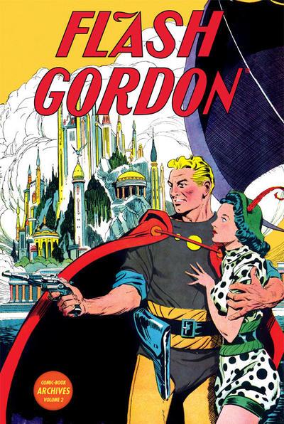 Cover for Flash Gordon Comic-Book Archives (Dark Horse, 2010 series) #2