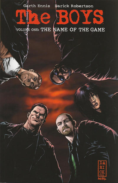 Cover for The Boys (Dynamite Entertainment, 2007 series) #1