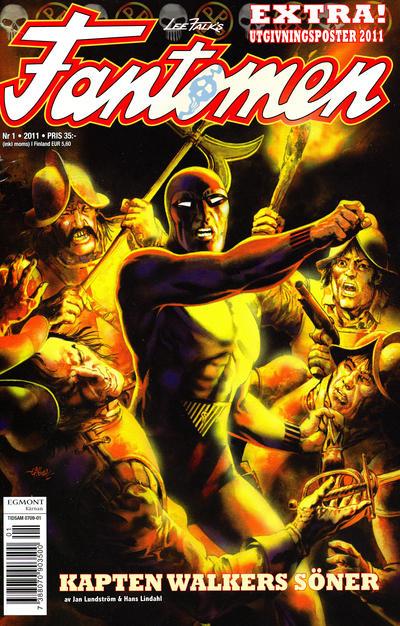Cover for Fantomen (Egmont, 1997 series) #1/2011