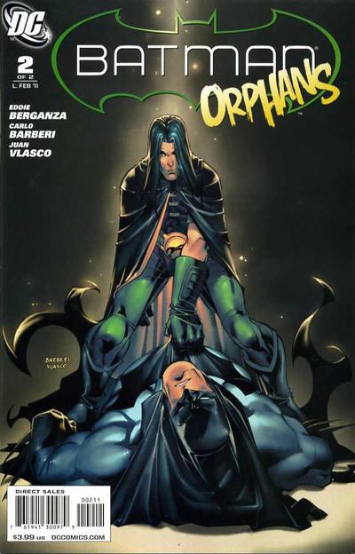 Cover for Batman: Orphans (DC, 2011 series) #2