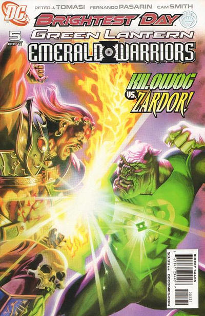 Cover for Green Lantern: Emerald Warriors (DC, 2010 series) #5