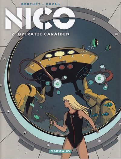 Cover for Nico (Dargaud Benelux, 2010 series) #2 - Operatie Caraïben