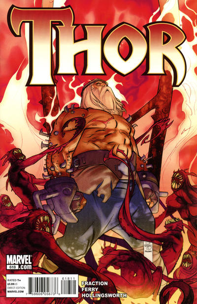 Cover for Thor (Marvel, 2007 series) #618