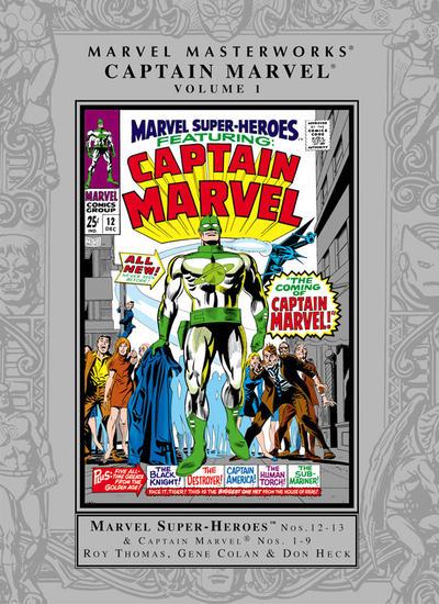 Cover for Marvel Masterworks: Captain Marvel (Marvel, 2005 series) #1 [Regular Edition]