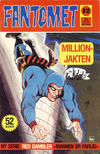 Cover for Fantomet (Nordisk Forlag, 1973 series) #12/1976