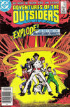 Cover for Adventures of the Outsiders (DC, 1986 series) #40 [Newsstand]