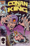 Cover for Conan the King (Marvel, 1984 series) #39 [Direct Edition]