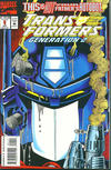 Cover for Transformers: Generation 2 (Marvel, 1993 series) #1 [Direct Edition]