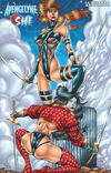 Cover for Avengelyne/Shi (Avatar Press, 2001 series) #1/2 [Liefeld]