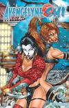 Cover for Avengelyne/Shi (Avatar Press, 2001 series) #1/2 [Mychaels]