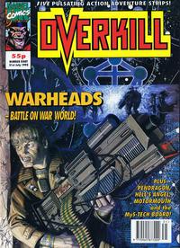 Cover Thumbnail for Overkill (Marvel UK, 1992 series) #8