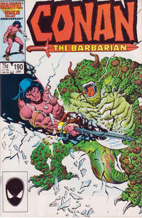Cover Thumbnail for Conan the Barbarian (Marvel, 1970 series) #190 [Direct Edition]