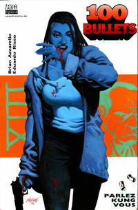 Cover Thumbnail for 100 Bullets (Tilsner, 2001 series) #4 - Parlez Kung Vous