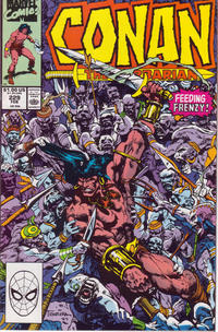 Cover Thumbnail for Conan the Barbarian (Marvel, 1970 series) #229 [Direct Edition]