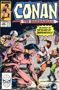Cover Thumbnail for Conan the Barbarian (Marvel, 1970 series) #225 [Direct Edition]