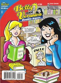 Cover Thumbnail for Betty and Veronica Double Digest Magazine (Archie, 1987 series) #186 [Direct Edition]