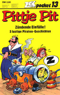 Cover Thumbnail for Zack Pocket (Koralle, 1980 series) #13 - Pittje Pit - Zündende Einfälle!