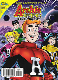 Cover Thumbnail for Archie & Friends Double Digest Magazine (Archie, 2011 series) #1 [Direct Edition]