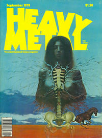 Cover for Heavy Metal Magazine (HM Communications, Inc., 1977 series) #v2#5 [Direct Sales]