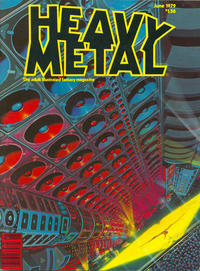 Cover for Heavy Metal Magazine (Heavy Metal, 1977 series) #v3#2 [Direct Sales]