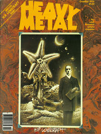 Cover for Heavy Metal Magazine (HM Communications, Inc., 1977 series) #v3#6 [Direct Sales]