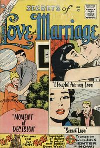 Cover Thumbnail for Secrets of Love and Marriage (Charlton, 1956 series) #19