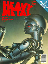 Cover for Heavy Metal Magazine (HM Communications, Inc., 1977 series) #v5#4 [Direct Sales]