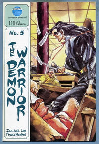 Cover Thumbnail for The Demon Warrior (Eastern Comics, 1987 series) #5