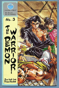 Cover Thumbnail for The Demon Warrior (Eastern Comics, 1987 series) #3