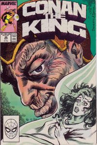 Cover Thumbnail for Conan the King (Marvel, 1984 series) #46 [Direct Edition]