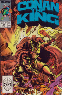 Cover Thumbnail for Conan the King (Marvel, 1984 series) #48 [Direct Edition]