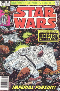 Cover Thumbnail for Star Wars (Marvel, 1977 series) #41 [Newsstand]
