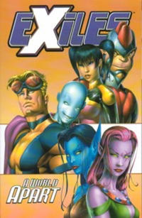 Cover for Exiles (Marvel, 2002 series) #2 - A World Apart