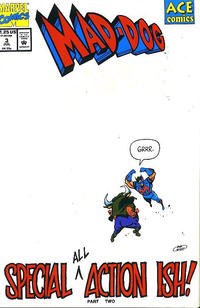 Cover for Mad-Dog (Marvel, 1993 series) #3