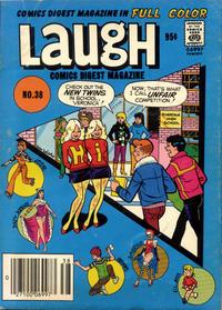 Cover Thumbnail for Laugh Comics Digest (Archie, 1974 series) #38