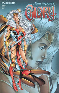 Cover Thumbnail for Alan Moore's Glory (Avatar Press, 2001 series) #1 [Haley Cover]