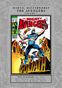 Cover Thumbnail for Marvel Masterworks: The Avengers (Marvel, 2003 series) #7 [Regular Edition]
