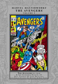 Cover Thumbnail for Marvel Masterworks: The Avengers (Marvel, 2003 series) #9 [Regular Edition]
