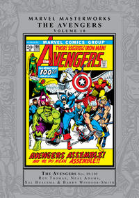 Cover Thumbnail for Marvel Masterworks: The Avengers (Marvel, 2003 series) #10 [Regular Edition]