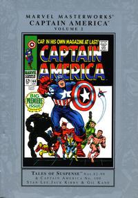 Cover Thumbnail for Marvel Masterworks: Captain America (Marvel, 2003 series) #2 [Regular Edition]