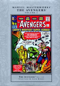 Cover Thumbnail for Marvel Masterworks: The Avengers (Marvel, 2003 series) #1 [Regular Edition]