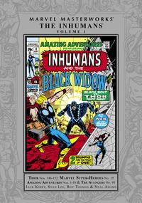 Cover Thumbnail for Marvel Masterworks: The Inhumans (Marvel, 2009 series) #1 [Regular Edition]