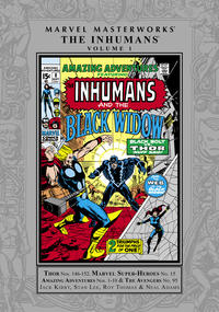 Cover Thumbnail for Marvel Masterworks: The Inhumans (Marvel, 2009 series) #1 [Regular Edition]