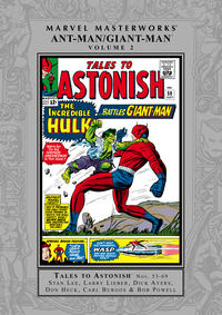 Cover Thumbnail for Marvel Masterworks: Ant-Man / Giant-Man (Marvel, 2006 series) #2 [Regular Edition]