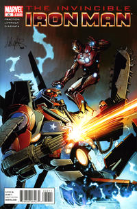 Cover Thumbnail for Invincible Iron Man (Marvel, 2008 series) #32