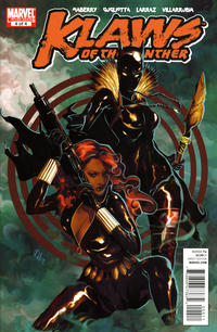 Cover Thumbnail for Klaws of the Panther (Marvel, 2010 series) #4
