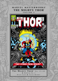 Cover Thumbnail for Marvel Masterworks: The Mighty Thor (Marvel, 2003 series) #5 [Regular Edition]