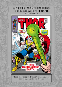 Cover Thumbnail for Marvel Masterworks: The Mighty Thor (Marvel, 2003 series) #6 [Regular Edition]