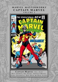 Cover Thumbnail for Marvel Masterworks: Captain Marvel (Marvel, 2005 series) #2 [Regular Edition]